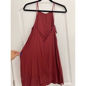 Free People | Intimately | Rust Slip Dress